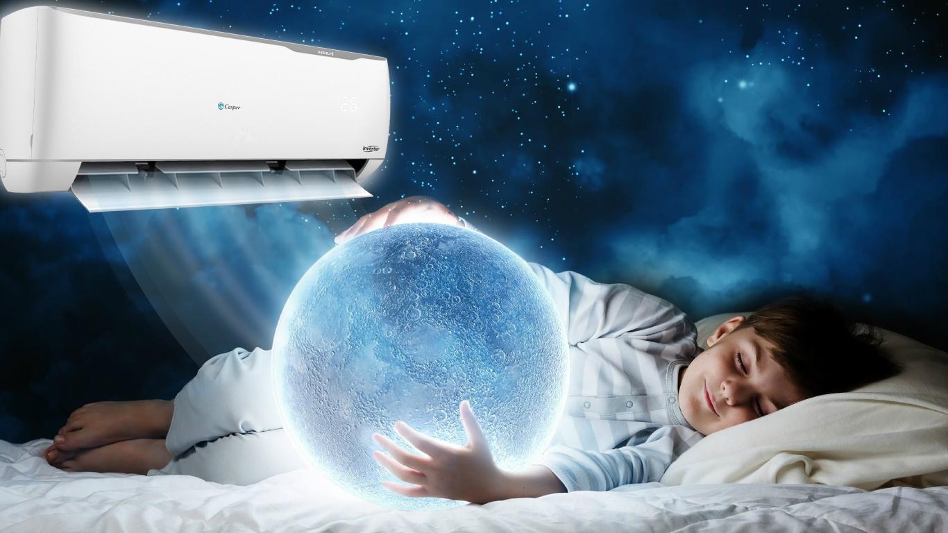 Chế độ ngủ sâu giấc trên điều hòa casper