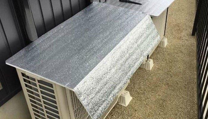 Dùng tấm bạt cách nhiệt có thể làm giảm nhiệt độ lớn giúp tiết kiệm điện