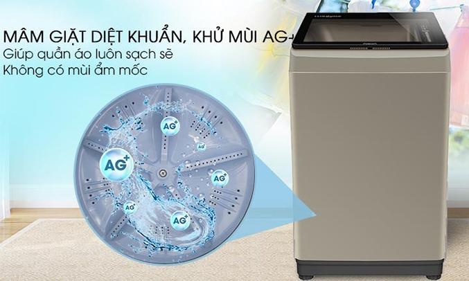 Máy giặt Aqua 9 kg AQW-U91CT (N) diệt khuẩn,khử mùi