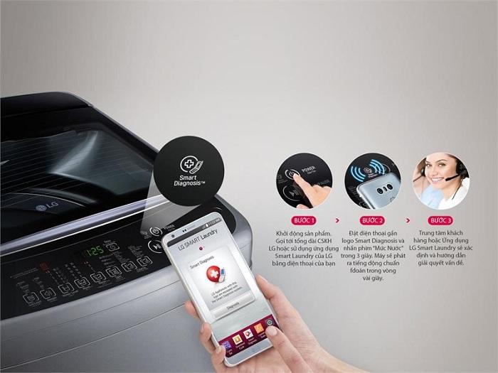 Máy giặt LG 10.5 kg Inverter T2350VS2W