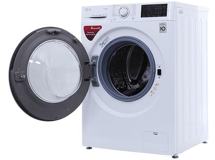 Máy giặt LG 8kg lồng ngang inverter FC1408S4W2 tiện nghi