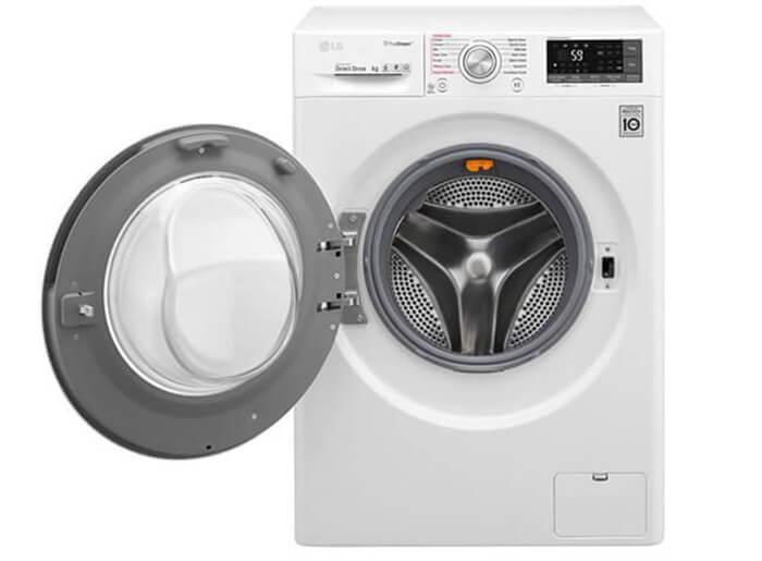 Máy giặt LG 9,5 kg lồng ngang inverter FC1409S2W thông minh