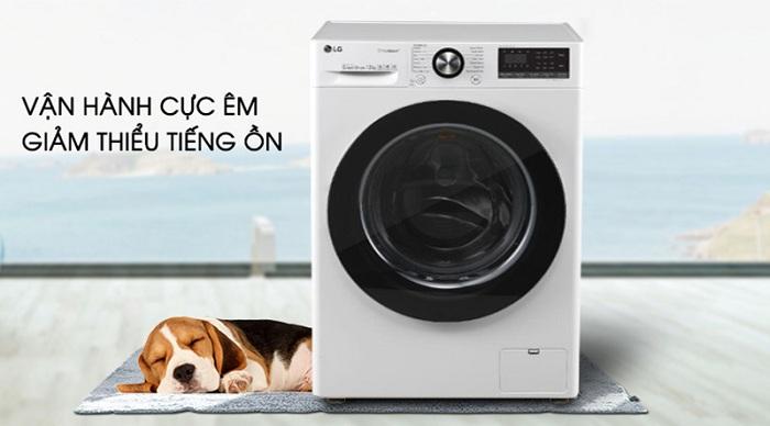 Máy giặt LG Inverter 10.5 kg FV1450S3W êm
