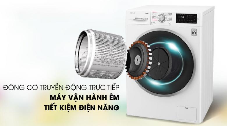 Máy giặt LG Inverter 9 kg FC1409S4W giá tốt