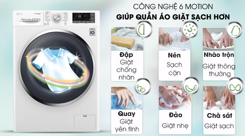 Máy giặt LG Inverter 9 kg FC1409S4W giá rẻ