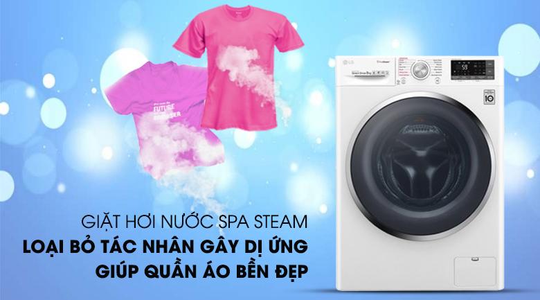 Máy giặt LG Inverter 9 kg FC1409S4W tiện lợi