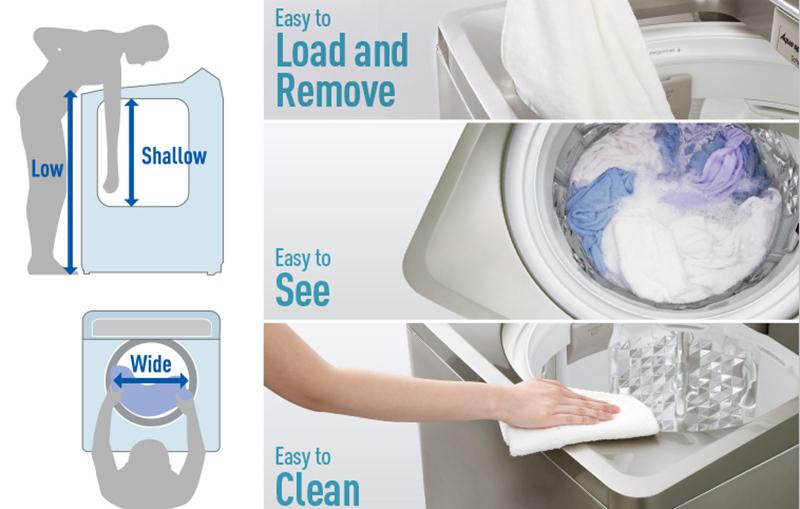 Máy giặt Panasonic 10 kg NA-F100A4HRV-2