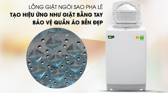Máy giặt Toshiba 9kg lồng đứng AW-G1000GV WG hiệu ứng
