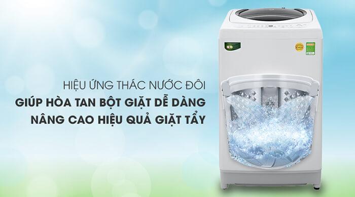 Máy giặt Toshiba 9kg lồng đứng AW-G1000GV WG thác nước