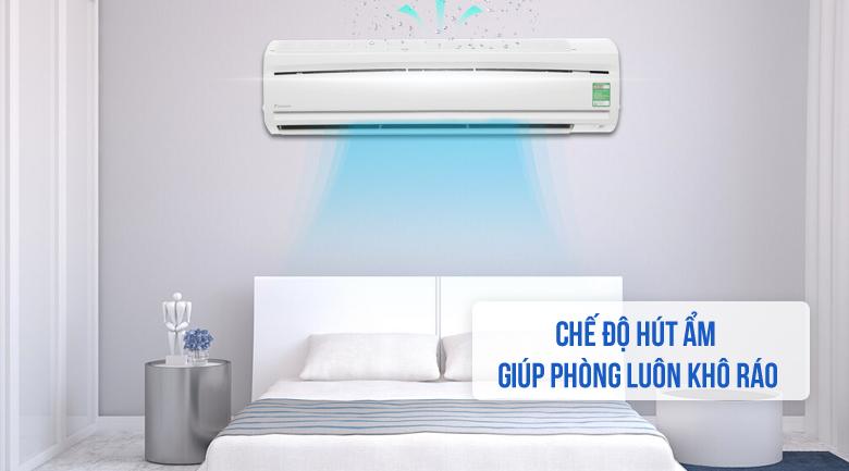 Máy lạnh Daikin 1 chiều 17.100BTU FTC50NV1V hút ẩm