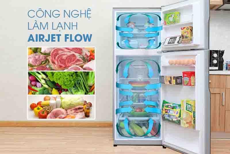 Tủ lạnh Hitachi 230 lít RH230PGV7 BSL làm lạnh đều