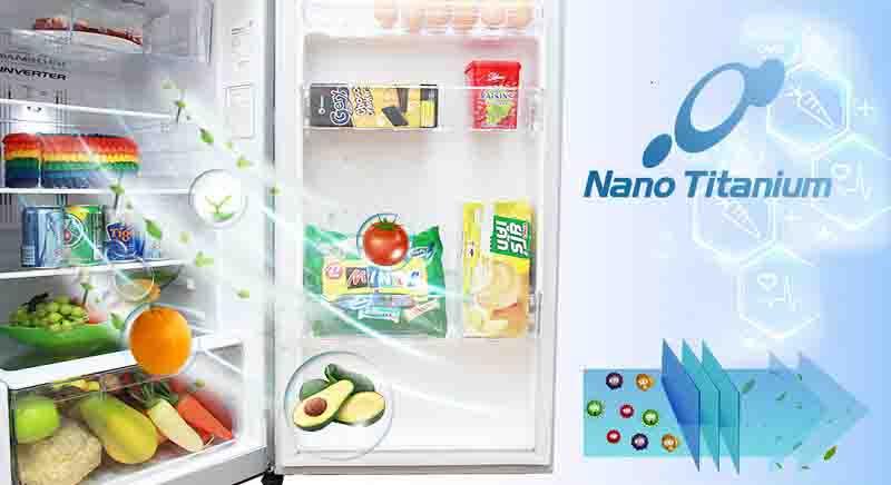 Tủ lạnh Hitachi 230 lít RH230PGV7 BSL lọc sạch không khí