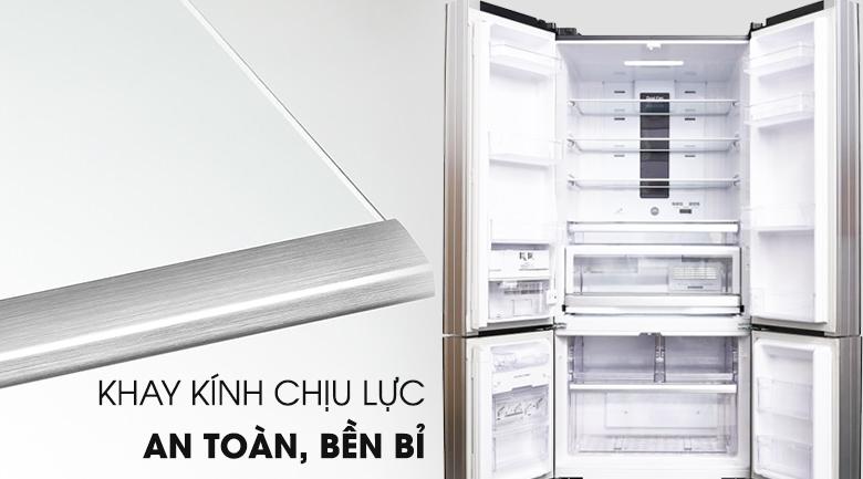Tủ lạnh Hitachi 587 lít R-WB730PGV6X (XGR)