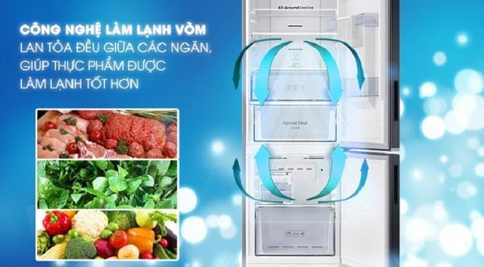 Tủ lạnh Samsung RB30N4180B1/SV làm lạnh tốt