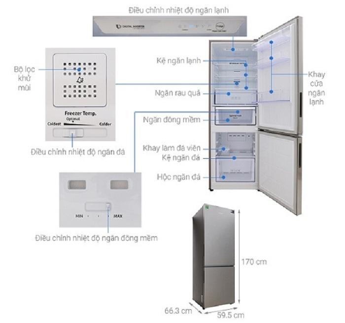 Tủ lạnh Samsung 310 lít Inverter RB30N4010S8/SV rẻ