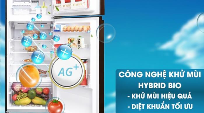 Tủ lạnh Toshiba 305 lít inverter GR-AG36VUBZ XB1 khử mùi