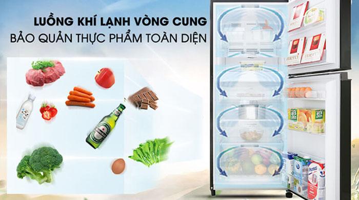 Tủ lạnh Toshiba inverter 180 lít GR-B22VU (UKG) làm lạnh