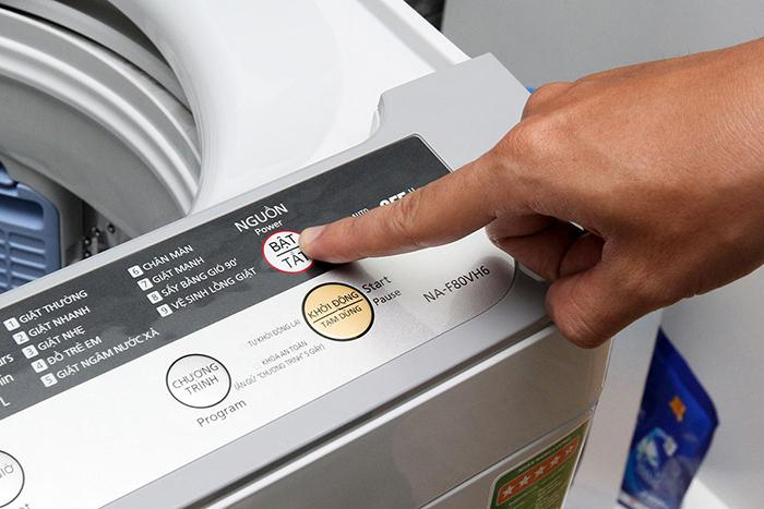 Máy giặt panasonic sử dụng như thế nào cho đúng?
