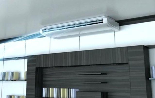 Dòng áp trần có thể được lắp áp trần nhà